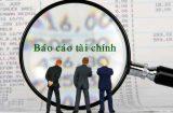 Cách thức gộp báo cáo tài chính của công ty mới thành lập