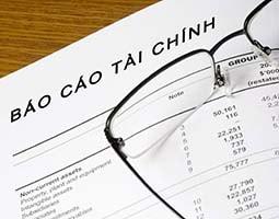 Báo cáo tài chính cuối năm